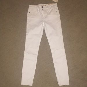 Pants - unpublished white denim jeans
